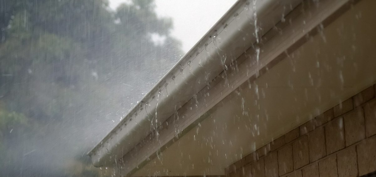 Roof in Storm Image