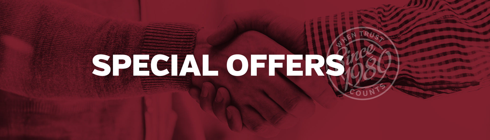Special Offers slider