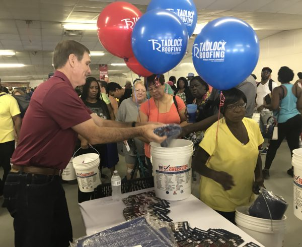 Hurricane Preparedness Bucket Building Image