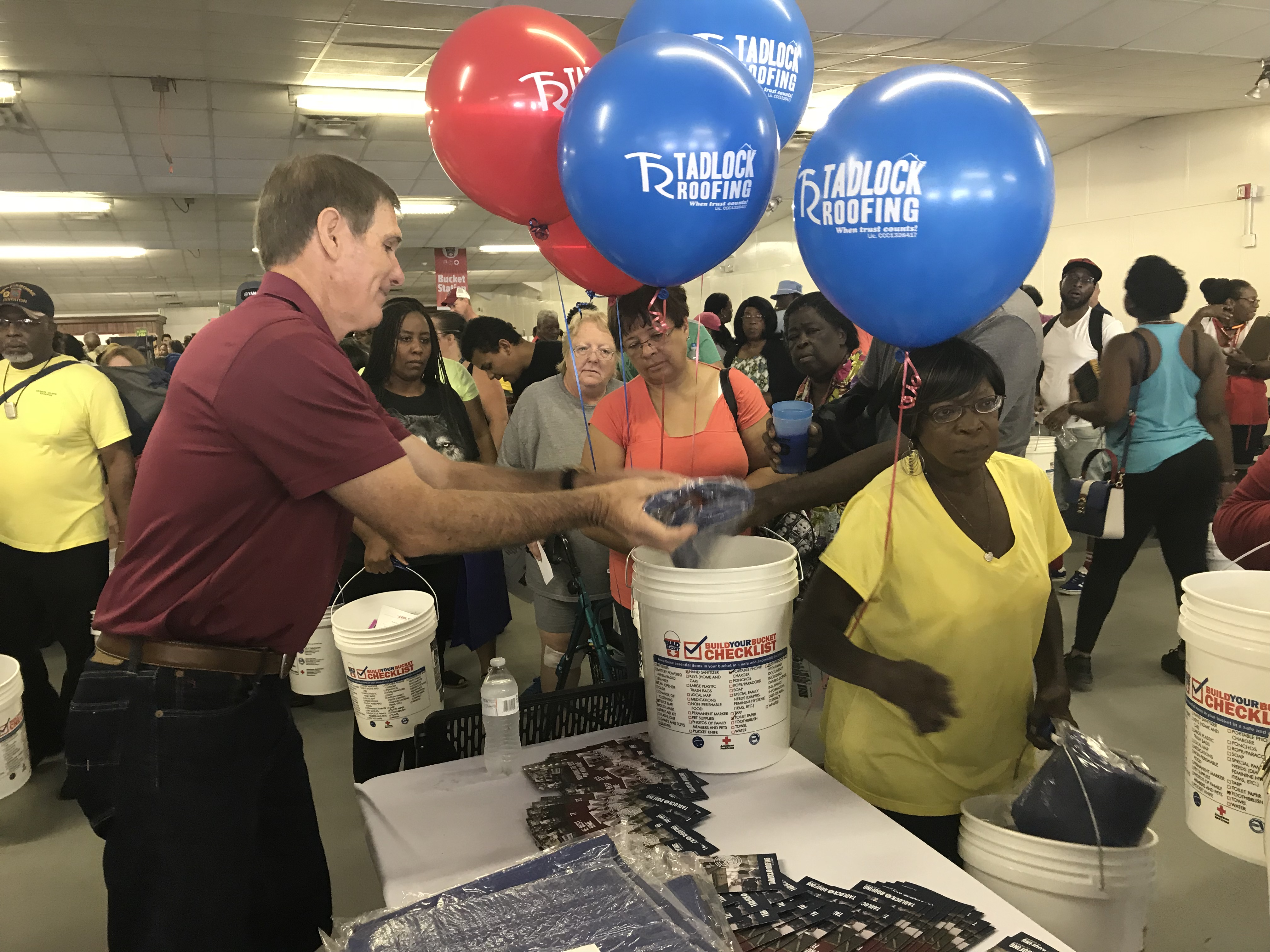 Tadlock Takes Part In Fourth Annual Build Your Bucket