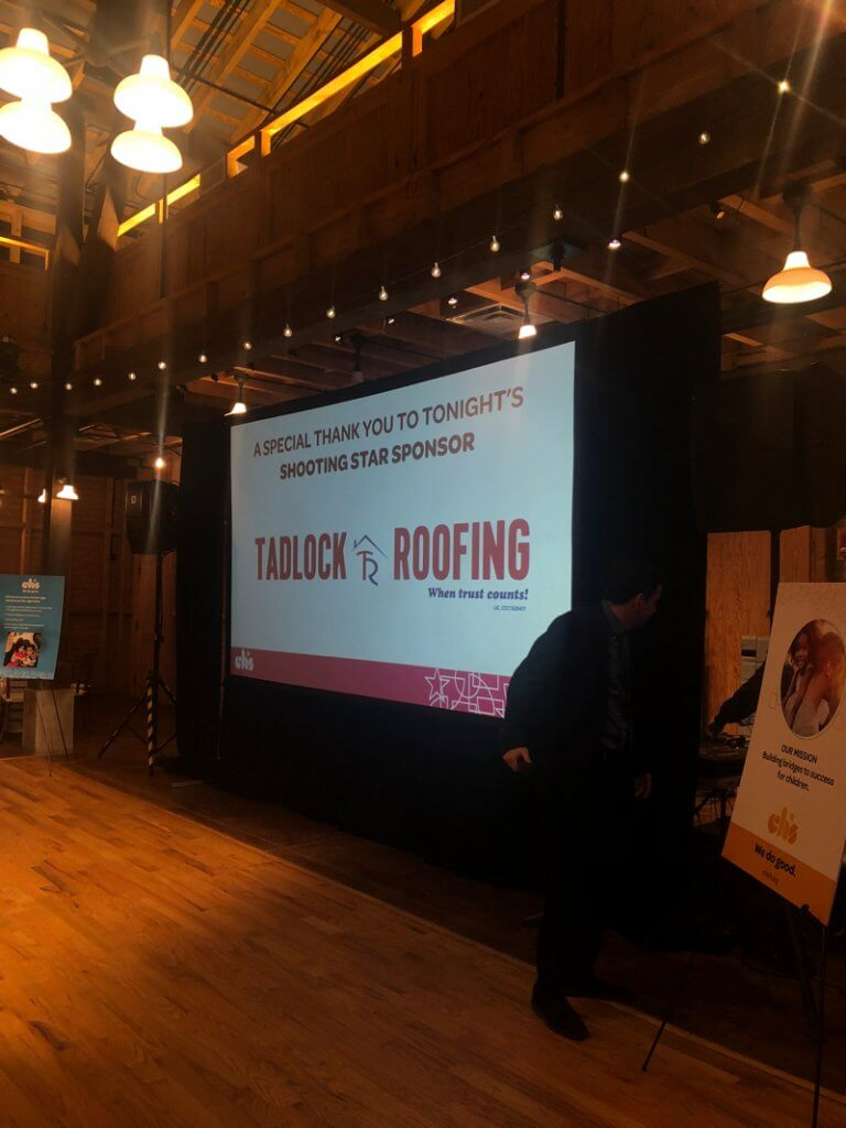 Tadlock Roofing Title Sponsors Children S Home Society