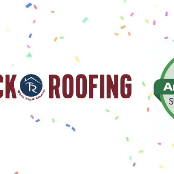 Tadlock Roofing Angie's List Super Service Award Post Image