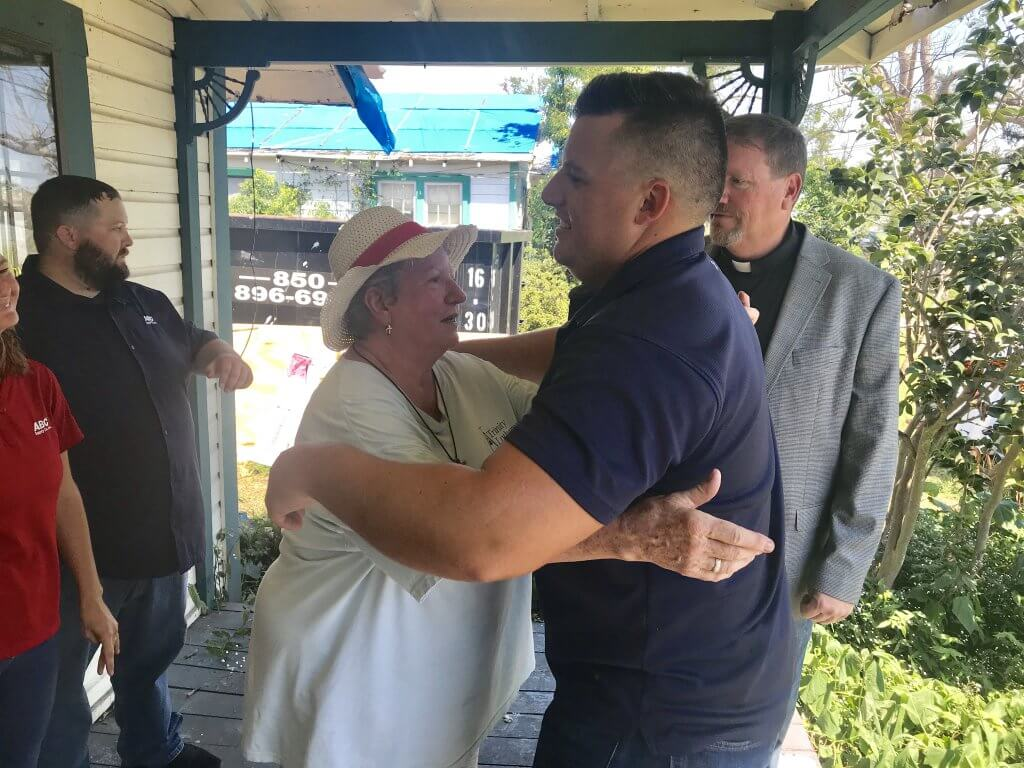 Panama City Lifetime Resident Receives New Roof After