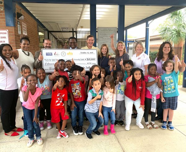 Tadlock Roofing Community Partnership School Image