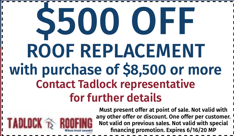 500 Off New Roof Tallahassee Family Offer